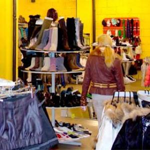 Магазины одежды и обуви Выборга